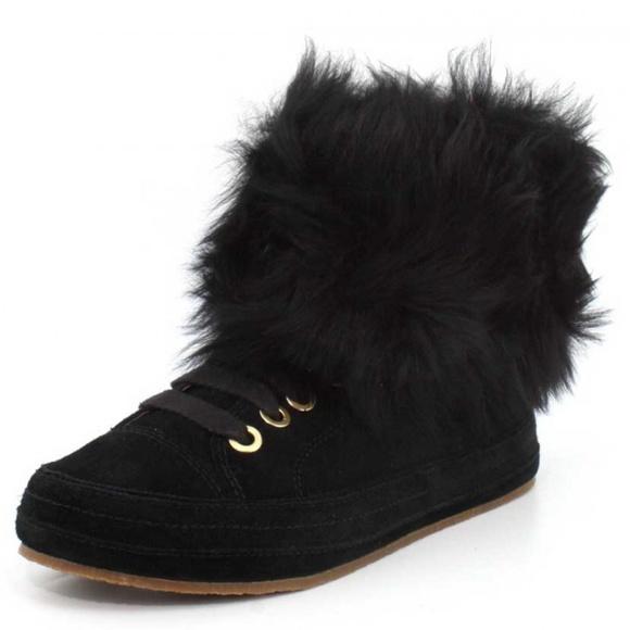 dbb3e6a1c91 UGG Women's Antoine Fur Fashion Sneaker NWT
